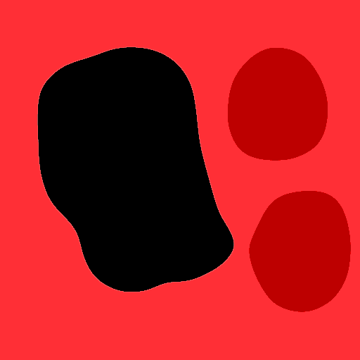 Image d'exemple avec une sélection active